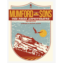 Red Rocks Print - 28th August