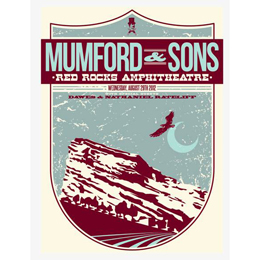Red Rocks Print - 29th August