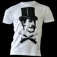 Top hat t-shirt - white