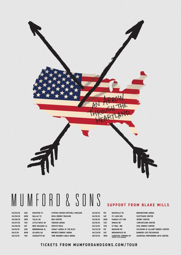 Mumford and sons tour dates in Brisbane