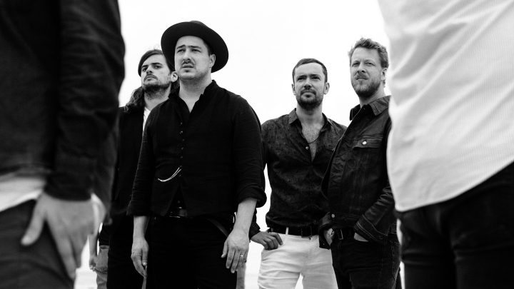 Mumford & Sons Delta album campaign press photo